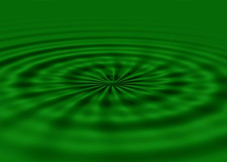 vague: green waves background