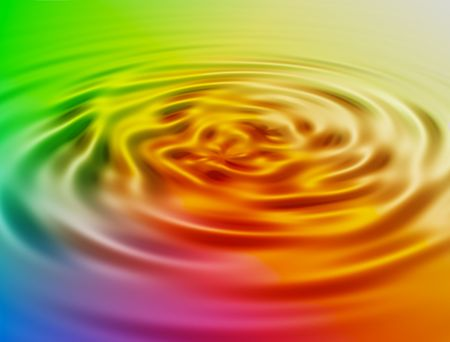 vague: colored whirlpool background Stock Photo