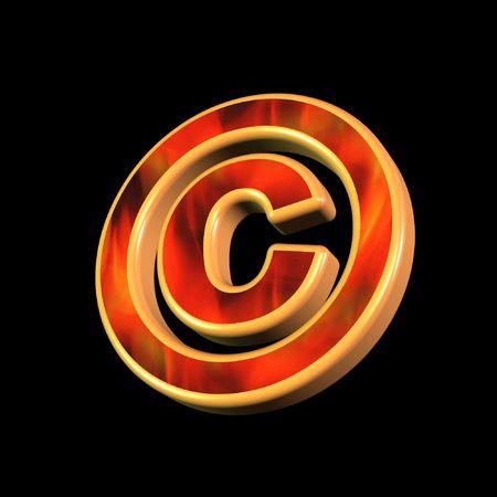 plagiarism: copyright symbol