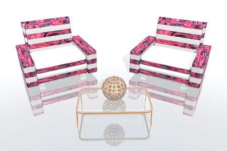blacks: pink lounge