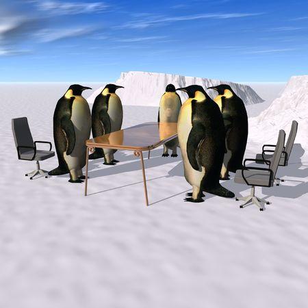 comité d entreprise: réunion d'affaires Banque d'images