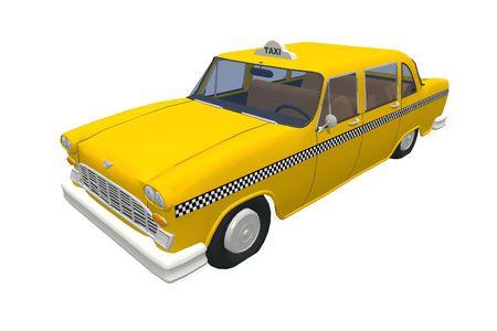 New York Taxi Stock Photo - 1517380