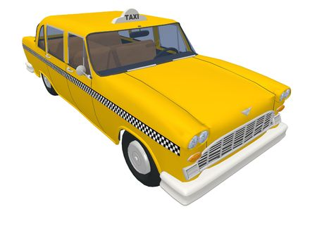 New York Taxi Stock Photo - 1517408