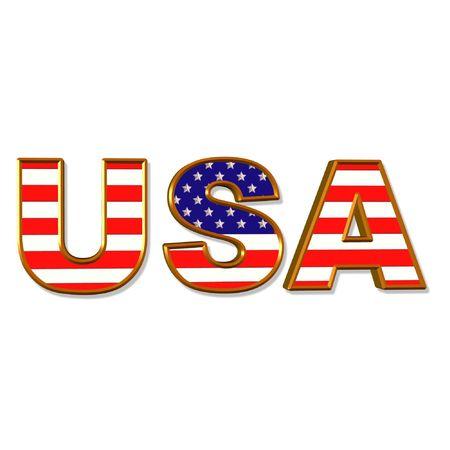 continente americano: EE.UU.  Foto de archivo