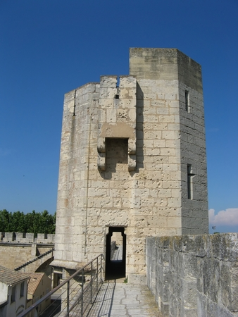 ramparts: Ramparts of the provence city of Aigues-Mortes