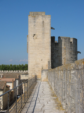 crusaders: Ramparts of the provence city of Aigues-Mortes
