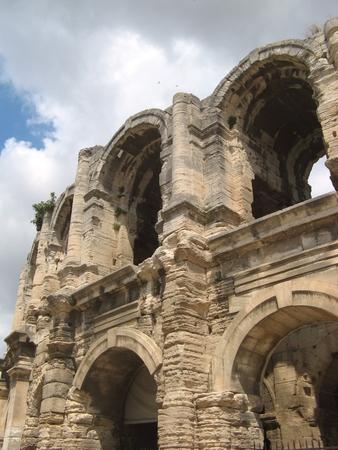 Roman arenas in Arles (Provence)