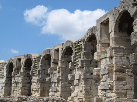arenas: Roman arenas in Arles (Provence)