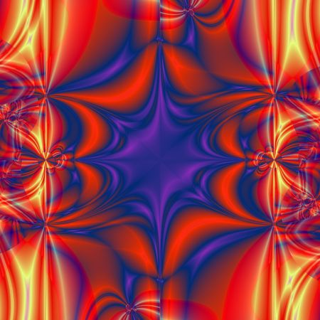 fractals: abstract and colored background generated by fractals