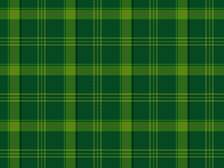 Illustration showing a scottish tartan seamless pattern Stock Photo