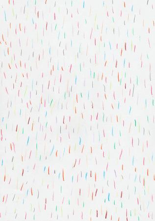 colored short lines on paper Banque d'images