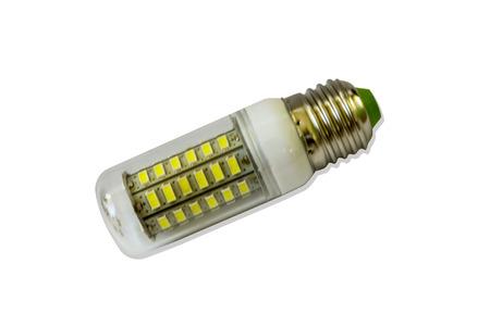 led light bulb: led light bulb isolated on white