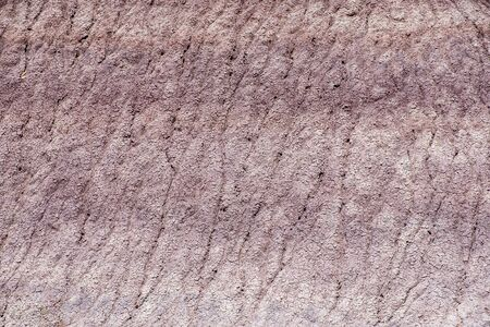 Close up texture of the sandstone formations along the Blue Mesa Trail - Petrified Forest National Park