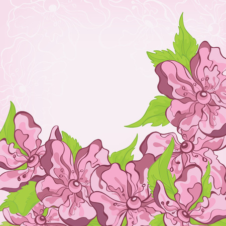 Flowers for Mothers Day Vector