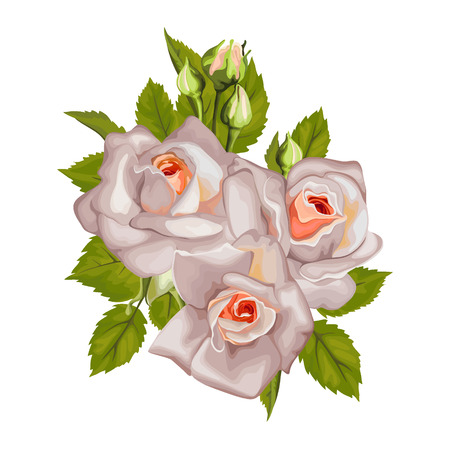 pedicle: Bouquet of roses with leaves for holidays, weddings, Valentine\\\\\\\\\\\\\\\\