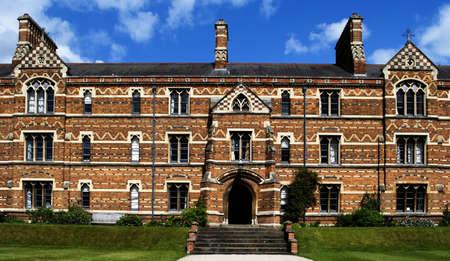 redbrick: East side of Liddon Quad, Keble College, Oxford UK