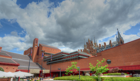 British Library in London, UK Editorial