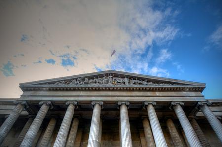 British Museum in London, UK Editorial