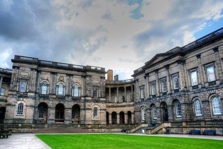 스코틀랜드 에딘버러 에딘버러 대학교. 에디토리얼