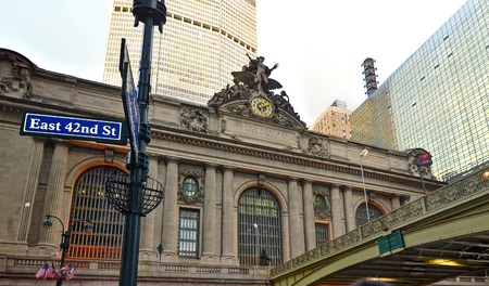 42nd: Grand Central Station in New York City, NY