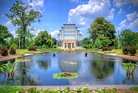american midwest: Jewel Box located in Forest Park, St. Louis, Missouri