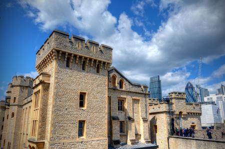 런던, 영국에서 런던 타워 스톡 콘텐츠
