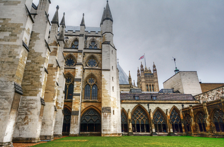 Westminster Abbey in London, UK Editorial
