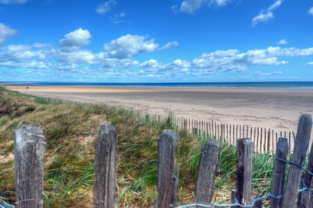 West Sands Beach in St. Andrews, Scotland. Stock Photo