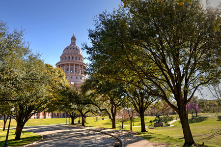Texas State Capitol in Austin, TX Stock Photo
