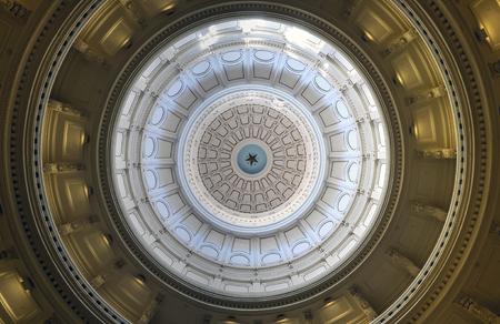 オースティン、テキサス州のテキサス州議会議事堂 写真素材