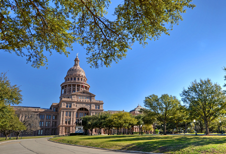 Texas State Capitol in Austin, TX Фото со стока - 81774662