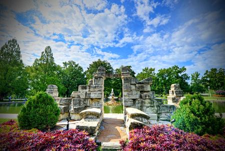Tower Grove Park, em St. Louis, Missouri Foto de archivo - 80576701