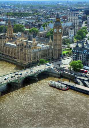 Palace of Westminster in London, UK