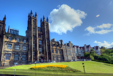 University of Edinburgh in Edinburgh, Scotland.