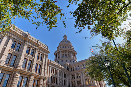tx: Texas State Capitol in Austin, TX Stock Photo