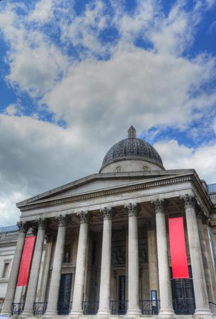 trafalgar: Trafalgar Square including the National Gallery Editorial