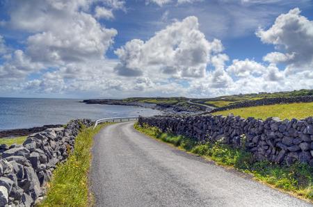 aran islands: Inishmore on the Aran Islands, Ireland.
