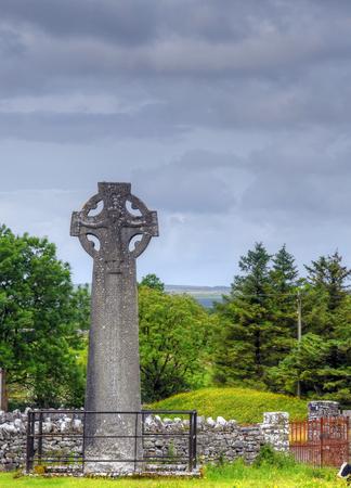 Croci Celtiche a Kilfenora, Irlanda. Archivio Fotografico - 80653202
