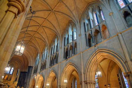 irish culture: Christ Church Cathedral in Dublin, Ireland.