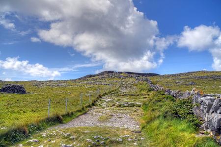 Inishmore on the Aran Islands, Ireland.