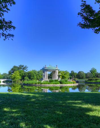 미주리 주 세인트 루이스에있는 숲 공원 무대.