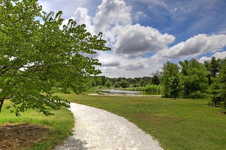 Forest Park in St. Louis, Missouri. Stok Fotoğraf