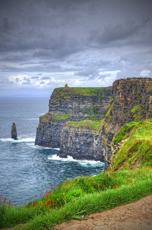 Ierland's Cliffs of Moher Stockfoto