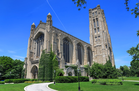 Chicago, Illinois, USA - June 23, 2018  - The University of Chicago, located in the Hyde Park neighborhood. Redakční