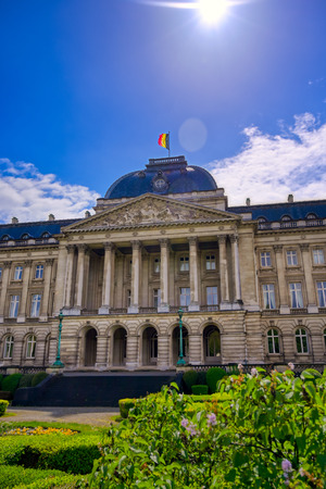 The Royal Palace of Brussels is the official palace of the King and Queen of the Belgians in the center of the nation's capital of Brussels, Belgium.