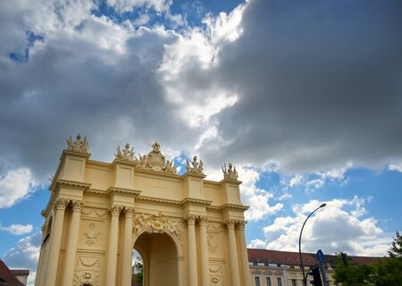 A view of Brandenburg Gate located in Potsdam, Germany.