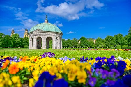The Hofgarten is a garden in the center of Munich, Bavaria, Germany.