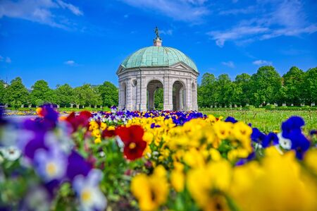 The Hofgarten is a garden in the center of Munich, Bavaria, Germany.