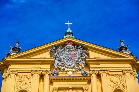 The Theatine Church of St. Cajetan, the Theatinerkirche St. Kajetan, is a Catholic church in Munich, southern Germany.