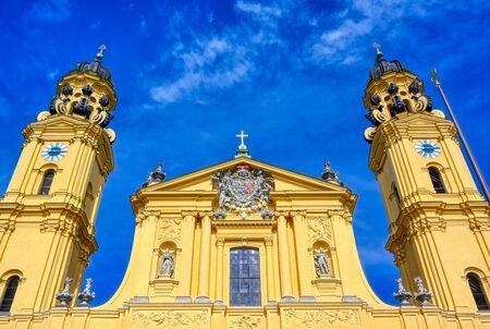 The Theatine Church of St. Cajetan, the Theatinerkirche St. Kajetan, is a Catholic church in Munich, southern Germany.